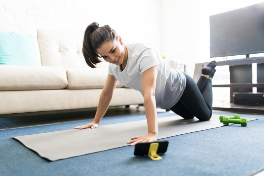 How to Stay Active and Healthy While Self-Isolating - Fitness Nation
