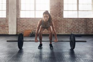 weight lifting technique